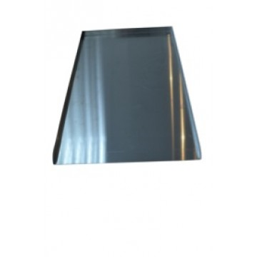 3 sided aluminium tray -16""