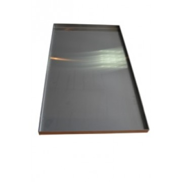 4 sided aluminium tray - 18""