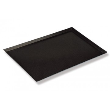 4 sided teflon angled tray