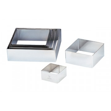 Stainless Steel square frame - 7""