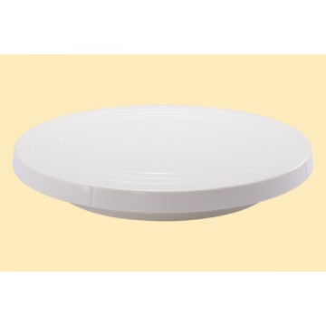 Revolving Cake Stand - Low, Plastic