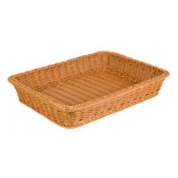 Plastic Rectangular Basket - Deep